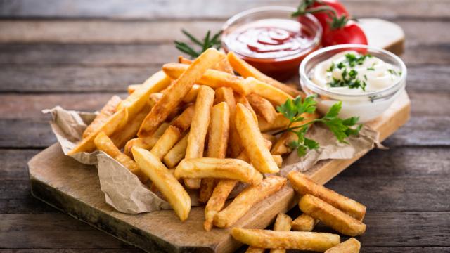 3 x smullen van heerlijke frieten