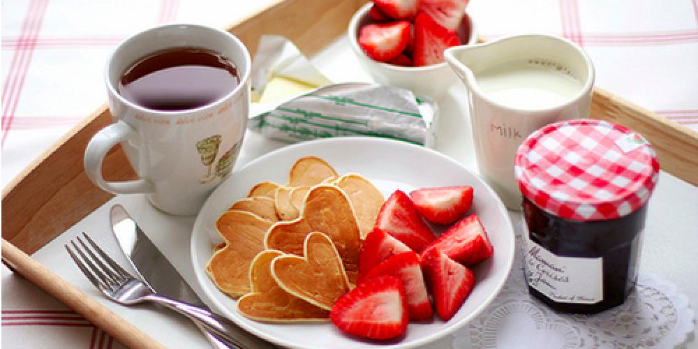 Valentijn ontbijt in Hasselt