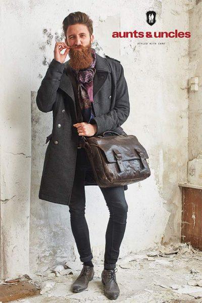 Artlux Lederwaren Valentino Mannen