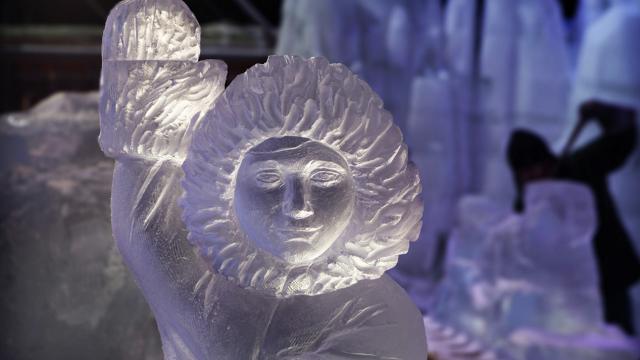 Ice Magic: een beetje Antarctica in Hasselt
