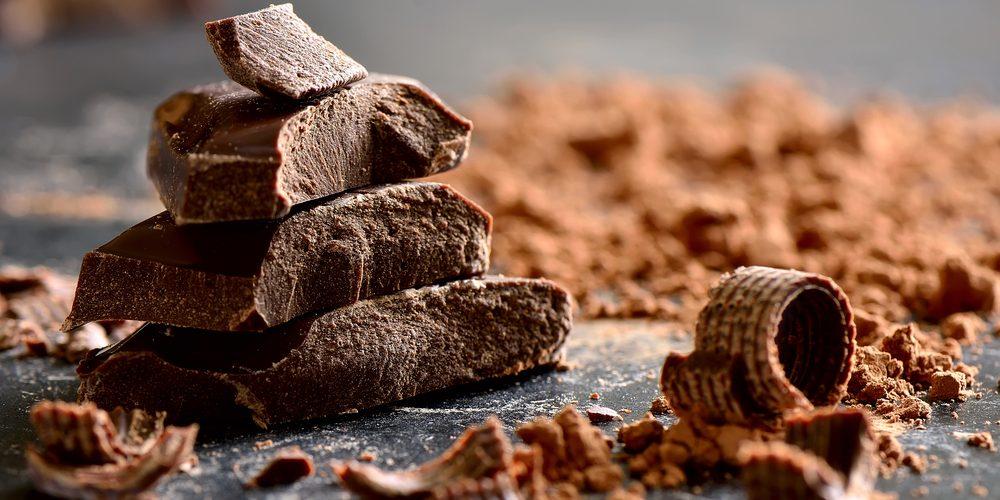 Smullen van heerlijke chocolade!