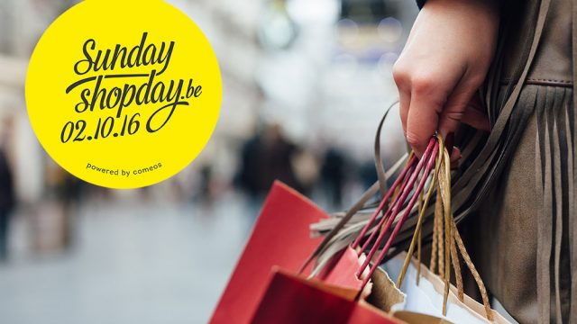 Sunday Shopday op 2 oktober in Hasselt