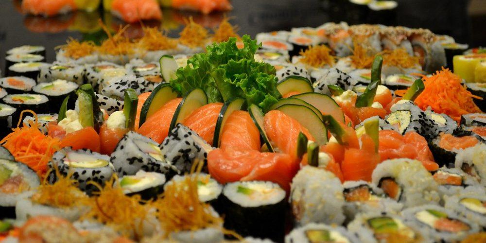 Sushi o'clock!